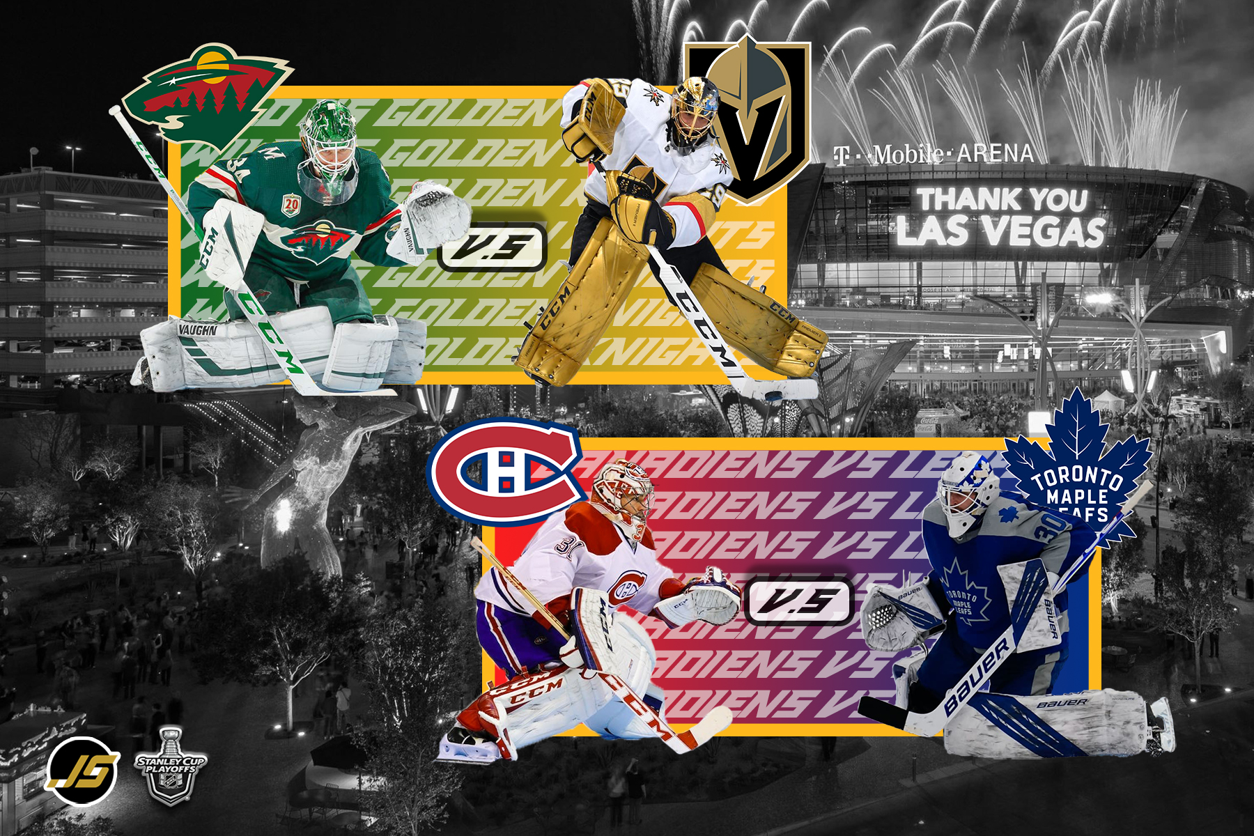 S6 E24 – North and West Division 1st Round Update 2021 NHL Playoffs