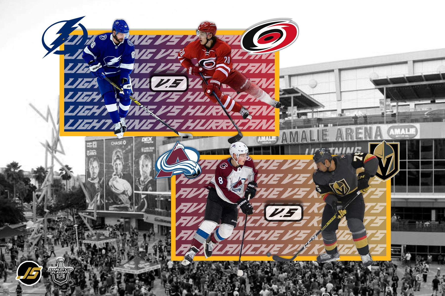 S6 E25 – Round 2 Central and West Division NHL Finals SeriesS6 E25 – Round 2 Central and West Division NHL Finals Series